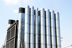 Aire acondicionado industrial Fotos de archivo