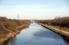 Aire & Calder Navigation Canal Royalty Free Stock Images