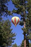 Aire caliente - cielo azul Foto de archivo libre de regalías