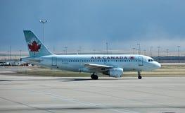 Aire de Airbus A319 Canadá Imágenes de archivo libres de regalías