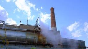 Aire de la contaminación, empresas industriales metrajes