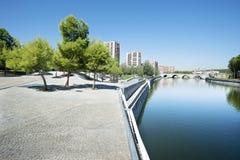 Aire de loisirs à Madrid, Espagne Images stock
