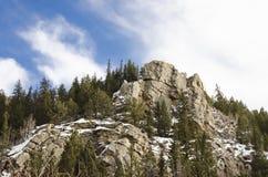 Aire de loisirs de canyon d'Elevenmile Images libres de droits