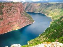 Aire de loisirs flamboyante de gorge Images stock