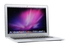 aire de MacBook de 13 pulgadas Fotos de archivo