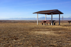 Aire de repos du Colorado Images libres de droits