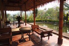 Aire de repos tropicale Photo libre de droits