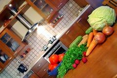 Aire de travail du cuisinier Image libre de droits