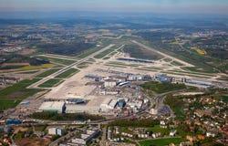 Aire del suizo A-340 Imágenes de archivo libres de regalías