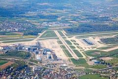 Aire del suizo A-340 Fotografía de archivo libre de regalías