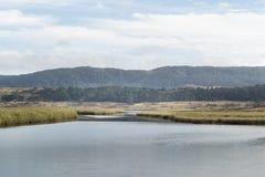 Aire flod, Victoria, Australien arkivbilder