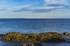 Aire libre hermoso en el mar adriático en Croacia Europa Fotos de archivo libres de regalías