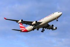 Aire Mauritius Airbus A340 Imagenes de archivo