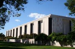 Aire nacional y museo de espacio fotografía de archivo