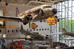 Aire nacional y museo de espacio en Washington fotografía de archivo