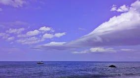 Aire púrpura Foto de archivo