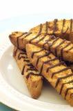 Airela Biscotti da amêndoa Imagem de Stock Royalty Free
