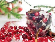 Airelas e açúcar Imagens de Stock Royalty Free