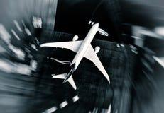 airer Пассажирский самолет стоковые изображения rf
