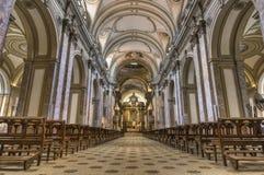aires阿根廷buenos大教堂 免版税库存照片