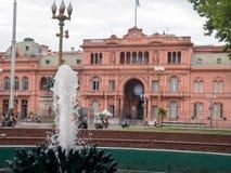 aires阿根廷buenos住处rosada 免版税图库摄影