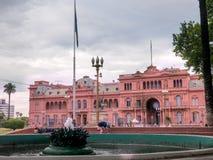 aires阿根廷buenos住处rosada 免版税库存照片
