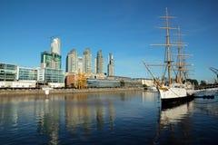 aires λιμάνι buenos παλαιό Στοκ Εικόνες