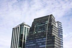 aires ουρανοξύστες buenos Στοκ Εικόνες