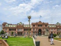 aires Argentina buenos casa domu menchii rosada Obraz Royalty Free