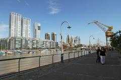 aires Argentina buenos madero puerto obraz royalty free