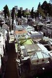 aires buenos墓地视图 库存照片