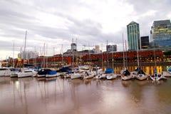 aires puerto madero buenos Στοκ Εικόνες