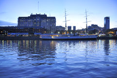 aires puerto madero buenos Στοκ φωτογραφίες με δικαίωμα ελεύθερης χρήσης