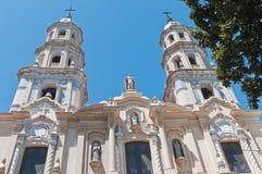 airesbuenos kyrkliga pedro san telmo Fotografering för Bildbyråer