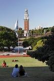 airesbuenosmartin plaza san Arkivbild