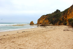 Aireys Inlet along the Great Ocean Road royalty free stock photo