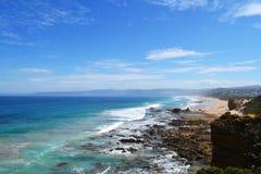 Aireys wpusta oceanu Wielka droga zdjęcie royalty free