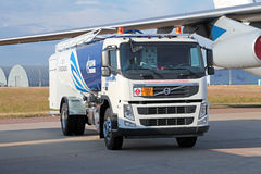 Airfield tanker Stock Photography