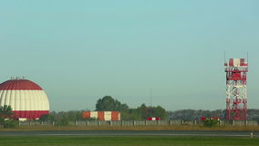 Airfield stock footage
