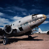 Airforce. US Air force in the Arizona desert Royalty Free Stock Photos