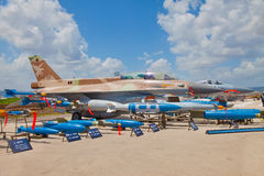 Airforce exhibition for Israeli Independence Day Stock Photos
