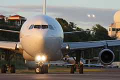 AirFrance is preparing for take-off  Stock Photo