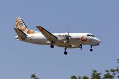 Airfreigher de turbopropulseur Photo stock