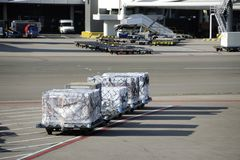 Airfreight Royalty Free Stock Photography