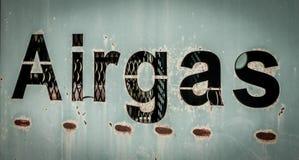 Airgas Fotos de archivo libres de regalías