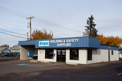 Airgas Welding and Safety Supplies stock image