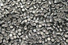 Airgun pellets background Stock Photos