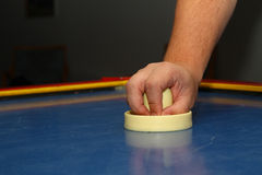 Airhockey Foto de Stock Royalty Free