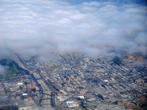Airial photo of San Francisco Royalty Free Stock Images