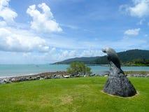 Airlie海滩澳大利亚 库存照片